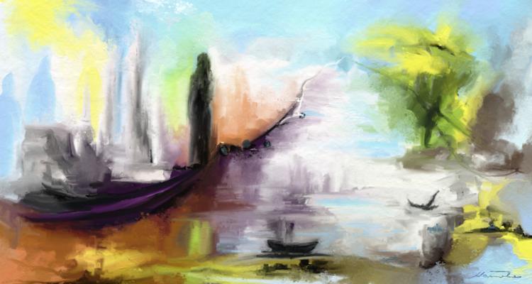 Fantasie, Digitale kunst, Surreal, Gegensatz