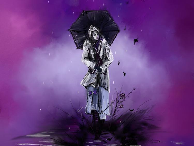 Fantasie, Kritzel, Digitale kunst, Surreal, Regen