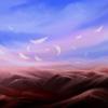 Wind, Fantasie, Landschaft, Malerei