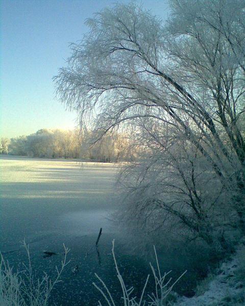 Eis, See, Winter, Natur, Fotografie