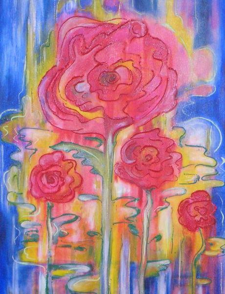 Pflanzen, Malerei