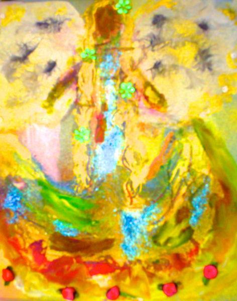 Engel, Heilung, Energetisch, Malerei, Regenbogen