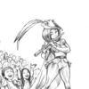 Bleistiftzeichnung, Rattenfänger, Kinder, Zeichnungen