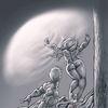 Tod, Unfall, Licht, Zeichnungen