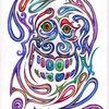 Buntstiftzeichnung, Zeichnungen