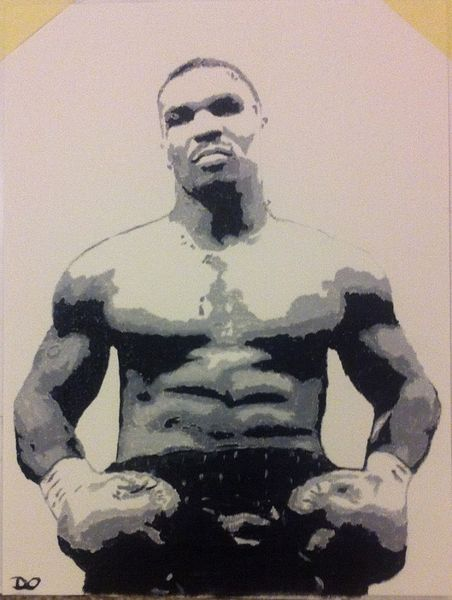 Boxer, Mike tyson, Box, Iron mike, Malerei