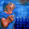 Figural, Ölmalerei, Seemann, Malerei