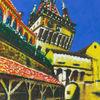 Burg, Siebenbürgen, Altstadt, Malerei