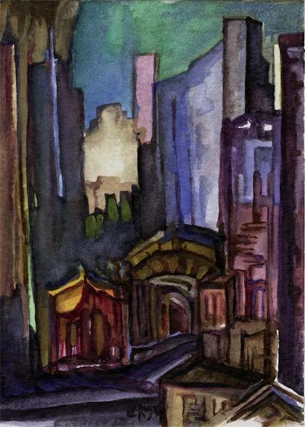 Malerei, Manhattan