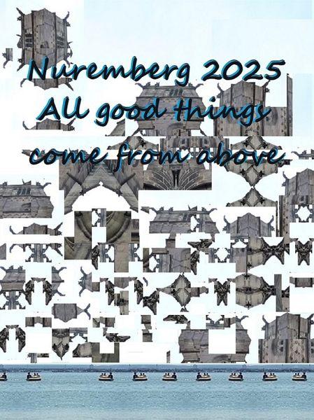 Oben, Botschaft, Nürnberg 2025, Kulturhauptstadt, Bewerbung, Fotografie
