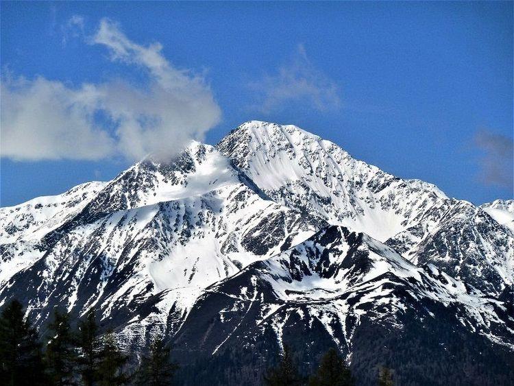 Panorama, Schnee, Berge, Fotografie