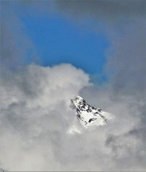 Berge, Himmel, Wolken, Schnee, Fotografie