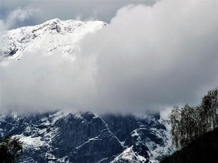 Berge, Seefeld, Wetter, Wolken, Ausblick, Fotografie