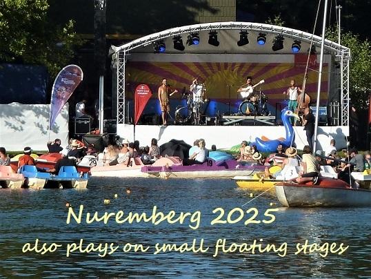 Bewerbung, Kulturhauptstadt, Botschaft, Nürnberg 2025, Seebühne, Fotografie