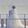 Kleid, Inszenierung, Frau, Mode