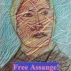 Portrait, Assange, Freiheit, Journalist