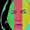Portrait, Menschen, Frau, Umfrage