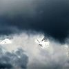 Wetter, Wolken, Berge, Schnee