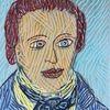 Farben, Kaspar hauser, 2028, Portrait