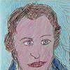 Menschen, Portrait, Rückkehr, Findling