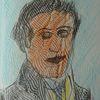 Portrait, Skizze, Kaspar hauser, Zeichnung