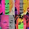 Koalition, Menschen, Hochrechnung, Politische farbenlehre