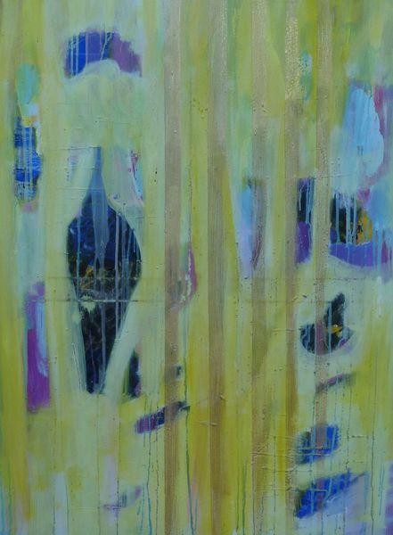 Elemente, Farben, Gestalt, Schweben, Traum, Malerei