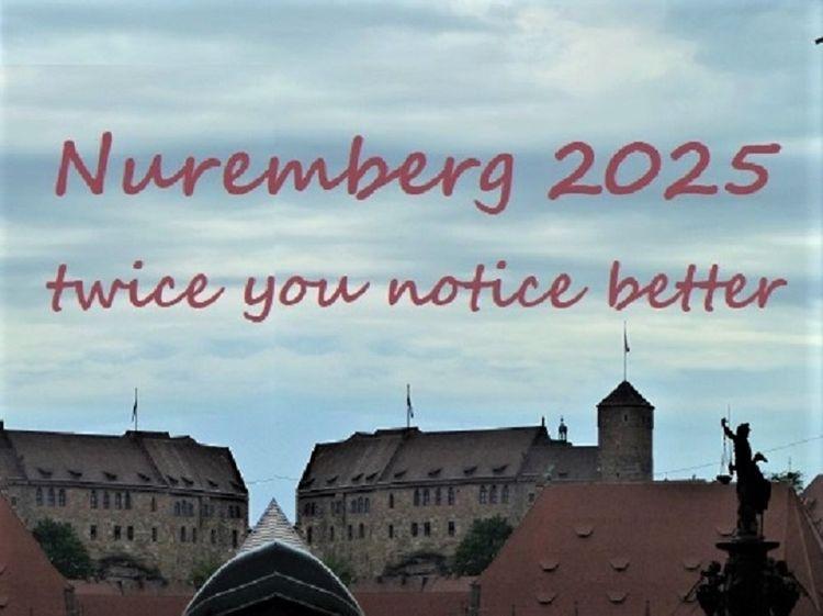 Botschaft, Nürnberg 2025, Doppelt, Bewerbung, Kulturhauptstadt, Fotografie
