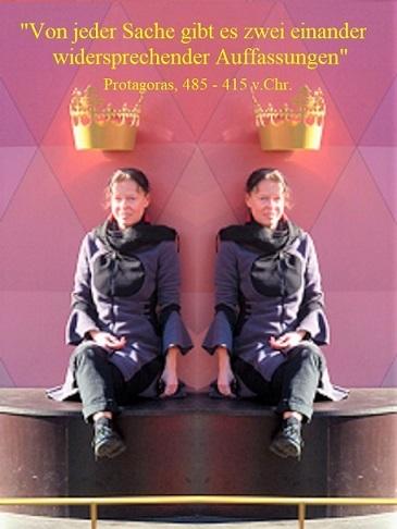 Auffassung, Protagoras, Darstellung, Zwillinge, Kaiser karl, Widerspruch