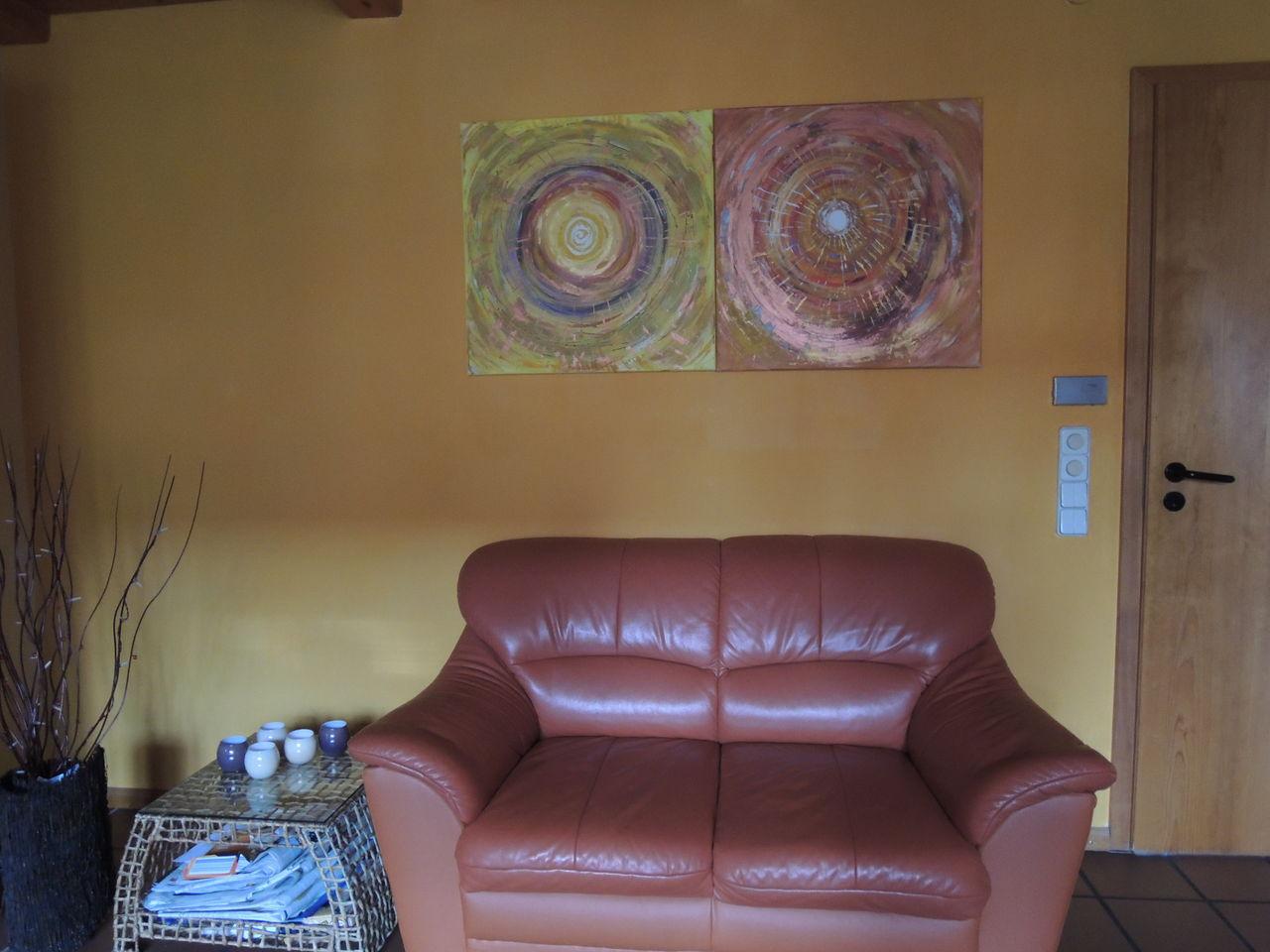 ausstrahlung, bestrahlung im wohnzimmer als beispiel - Moderne kunst ...