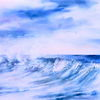 Meer, Aquarellmalerei, Gischt, Wasser