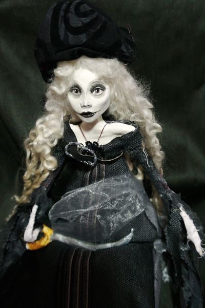 Karneval, Theater, Marionette, Piratin, Kostüm, Puppe