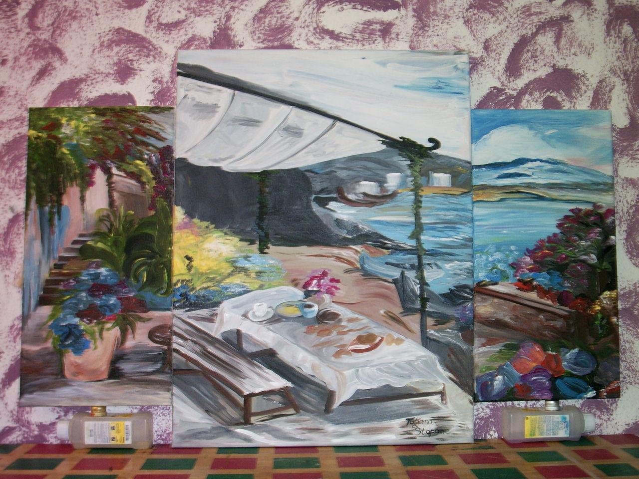 fr hst ck am meer image by tanja7584 on kunstnet. Black Bedroom Furniture Sets. Home Design Ideas
