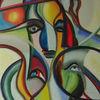 Fantastische malerei, Surreal, Künstlerlexikon, Acrylmalerei