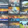 Küstenlandschaft, Felsen, Miniatures, Meer