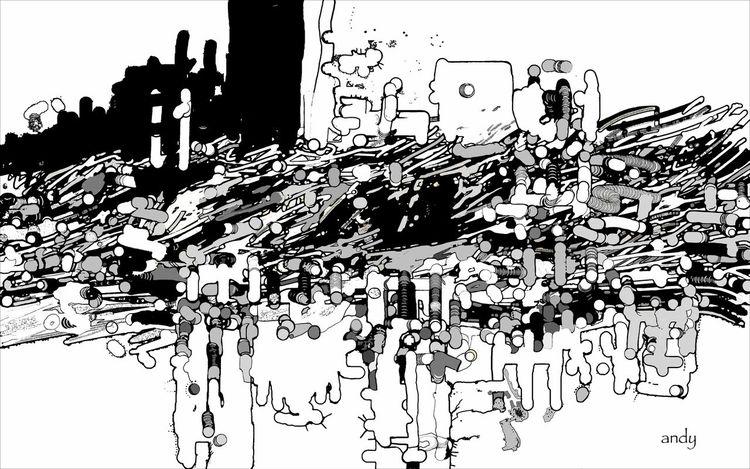 Inferno, Abstrakte kunst, Perfekt, Atmosphäre, Digitale kunst, Tag