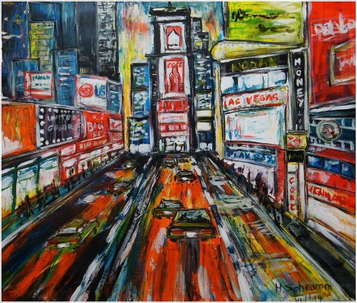 Malerei, Metropole