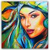 Malerei, Acrylmalerei, Rot, Modern art