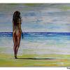 Wandbild, Malerei, Erotik, Frau