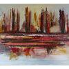 Feuer, Abstrakt, Gemälde, Dekoration