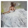Braut, Gemälde, Brautkleid, Wandbild