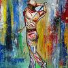 Golfer gemälde, Acrylmalerei, Sportbilder, Sportiv