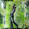Gemälde, Golfturnier, Golfspiel, Golf