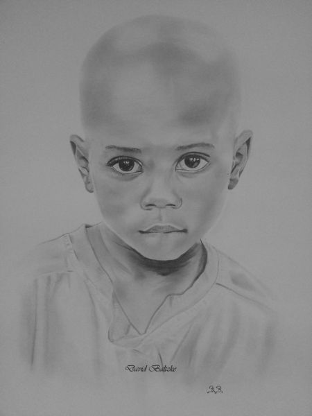 Junge, Malerei,
