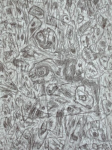 Zeichnung, Befindlichkeit, Ausdruck, Landschaft, Zeichnungen, Musik