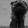 Fotografie, Schwarzweiß, Gesellschaft, Horror