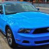 Oldtimer, Fahrzeug, Konzept, Blau