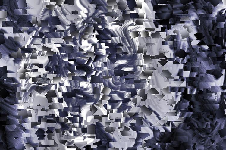 Digitale kunst, Menschen, Ausdruck, Schrei, Während