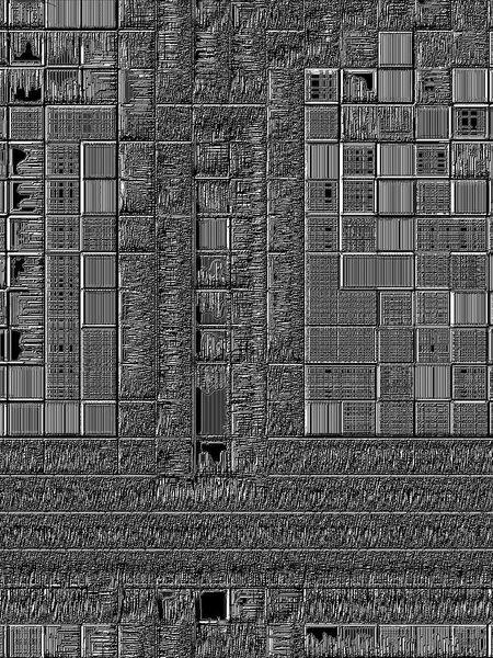 Digitale kunst, Stadt, Ende, Zeit