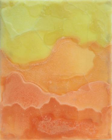 Formen, Gelb, Wachs, Orange, Kerzen, Malerei